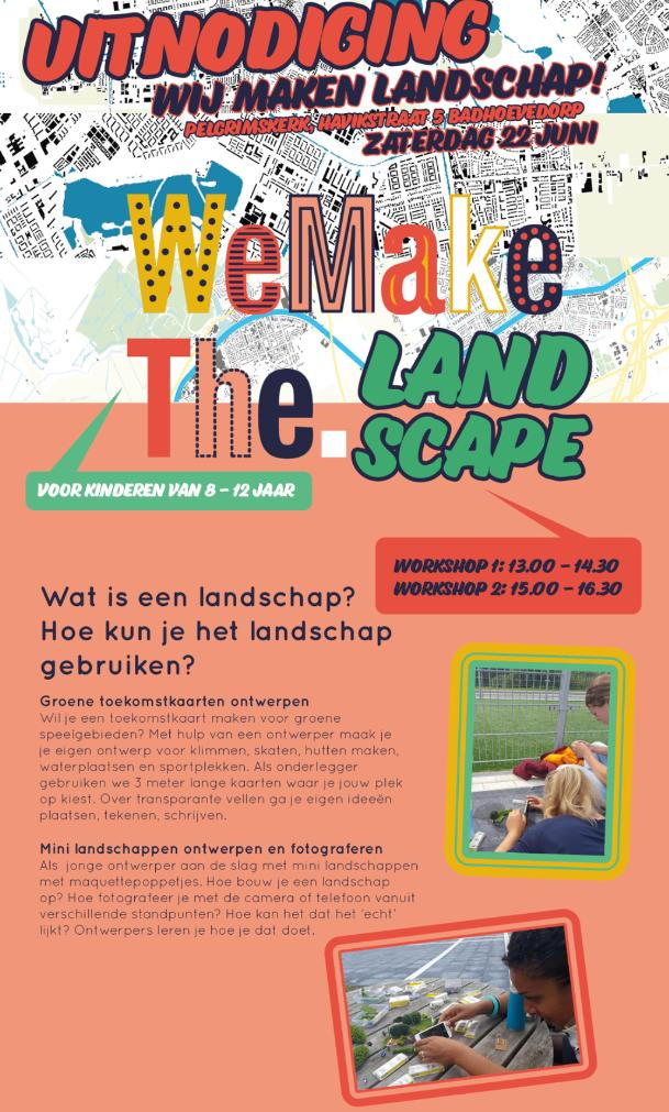 Landschap Workshops Voor Jonge Ontwerpers